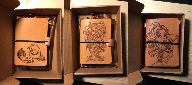 Traveler's Notebook - Scontati - temi vari: Molang, la bella e la bestia e Tea Time - Vari formati (passport o 16x22cm)  100% made in Italy di LorenzoDiniFirenze su Etsy