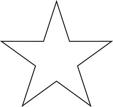 Molde - estrela grande