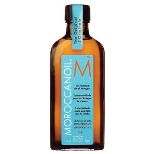 This is perfect for one's hair, smells great and two or three drops is all it takes. The sales success of this Moroccan Oil for hair (made in Israel) is well justified. Our whole household uses it and it lasts because you don't use much per application. $37