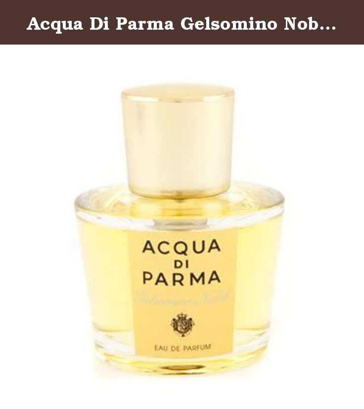 Acqua Di Parma Gelsomino Nobile 1.7 oz Eau de Parfum Spray. ACQUA DI PARMA by Acqua di Parma for WOMEN GELSOMINO NOBILE EAU DE PARFUM SPRAY 1.7 OZ Launched by the design house of Acqua di Parma in 1916, ACQUA DI PARMA by Acqua di Parma possesses a blend of cedarwood, rosemary, vetievr, orange, lemon. It is recommended for romantic wear.