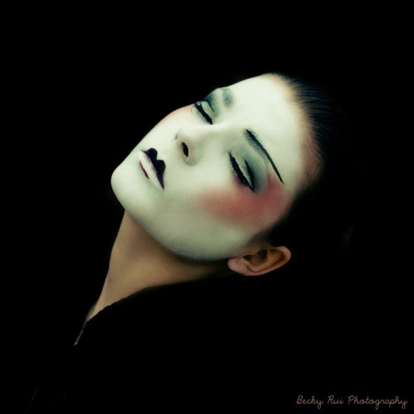 Makeup #geisha
