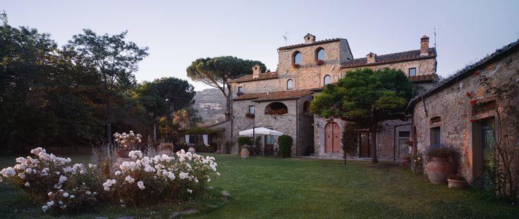 Monastero San Silvestro Cortona  al tramonto
