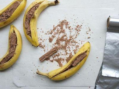 Flake Baked Bananas recipe