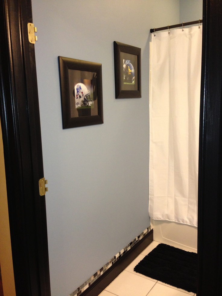 39 best images about bathroom ideas dominic on pinterest for Sports themed bathroom ideas