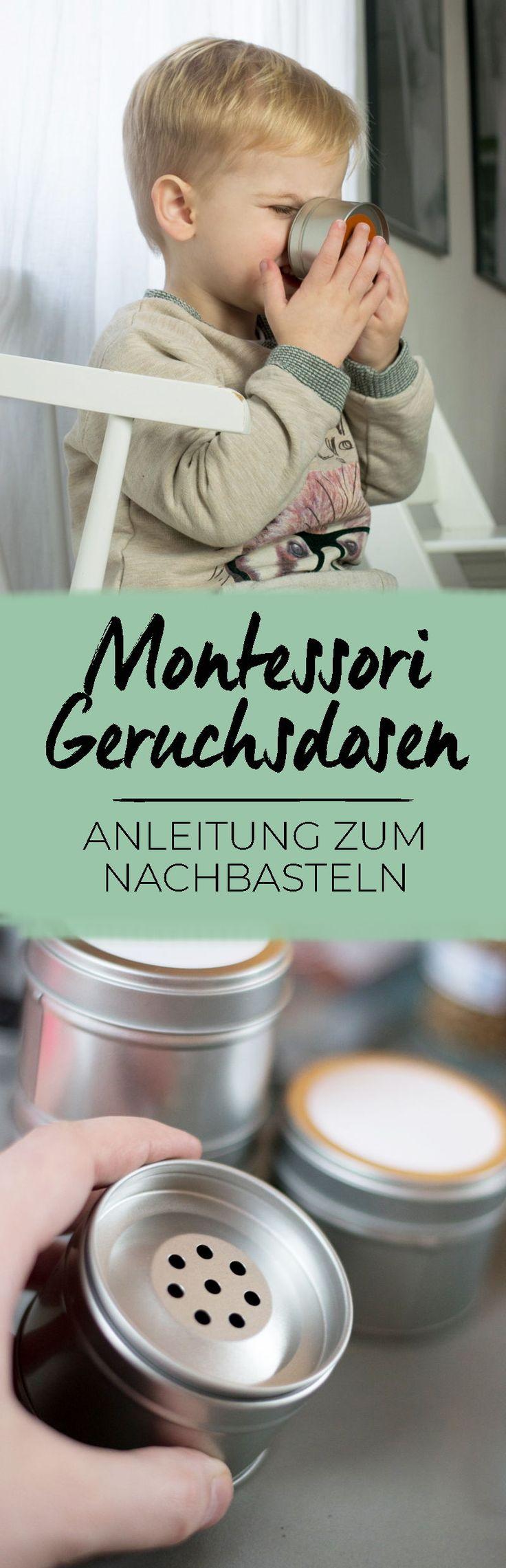 Anleitung für Montessori Geruchsdosen