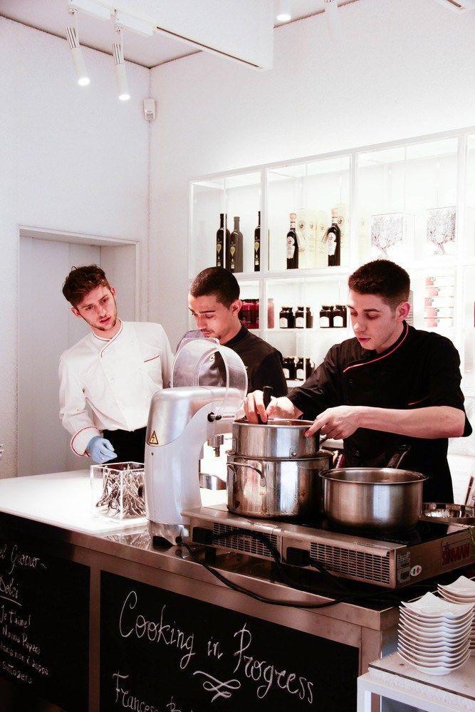#Showcooking Cooking in Progress May 27th w/ Gelateria Bedussi at G&B Negozio Progress  gbprogress.com