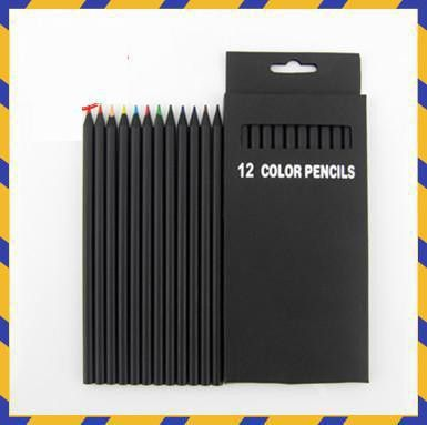 2016 NEW ARRIVAL 12 pcs/ Set Packaging Color Pencil For Secret Garden Total 12 Different Colours Colored Pencils Kawaii School