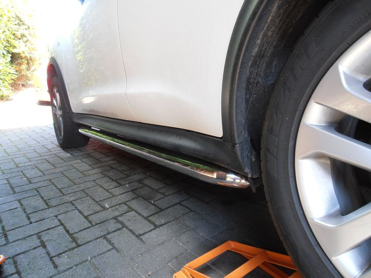 Nissan Juke Stainless Steel Side Bars Side Steps 4x4
