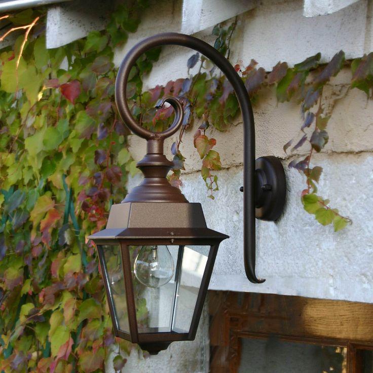 Buitenlamp wand Roger Pradier Chenonceau zwart, met 25 jaar garantie !