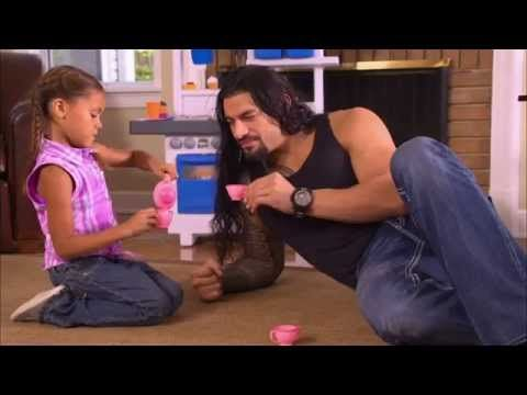 Roman Reigns: 'Take Time to Be a Dad Today' - YouTube. This is so freaking cute