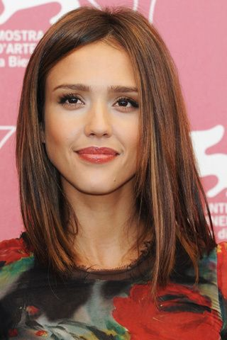 Haircut: Haircuts, Long Bobs Hairstyles, Haircolor, Hair Cut, Jessicaalba, Hair Makeup, Hair Style, Jessica Alba, Hair Color