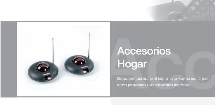 Accesorios hogar. Dispositivos para uso interor que ofrecen nuevas prestaciones para el hogar. http://www.palcoelectronica.es/antenas/televes/accesorioshogar/accesorios_hogar.pdf