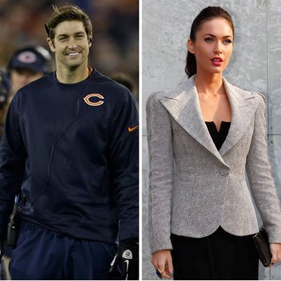 Jay Cutler, Fantasy Football, and... Megan Fox? Http://fanzzi.mobi