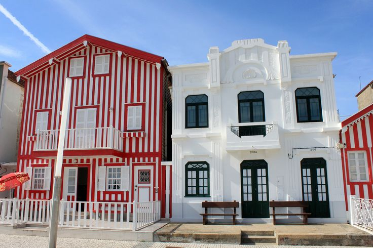 https://flic.kr/p/p8Qe9N | COSTA NOVA, «RETRO» BEACH | Closest to the city of Aveiro centre are Costa Nova and Barra beaches. Costa Nova runs the length of the sandy spit that runs in a north-south direction from southern mouth of the Aveiro lagoon. The beach itself is wide and sandy with grassy dunes. Above you can see the pretty wooden buildings that are painted in candy stripes and lend the Costa Nova beach a unique «retro» atmosphere. These houses are mostly used as holiday homes along…