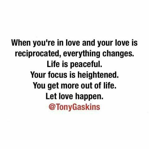 Let love happen!