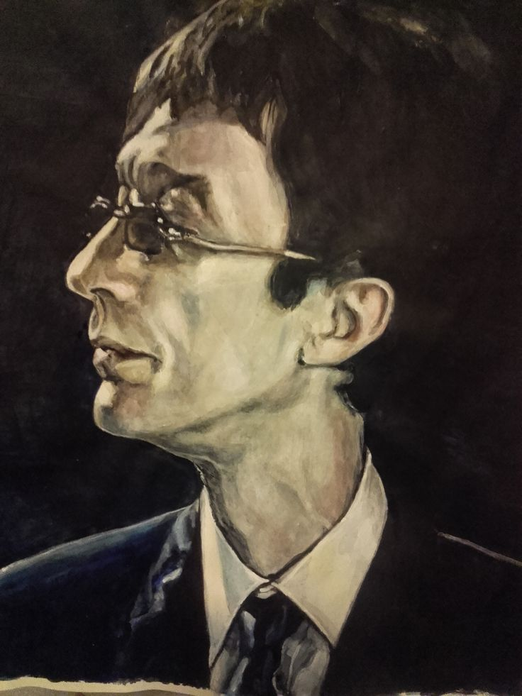 Robin Gibb, Redemption. Acrylics on paper 2017