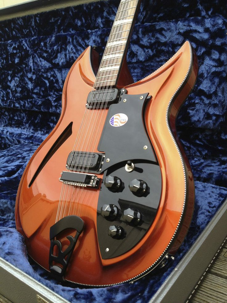 Rickenbacker 381 12V69 Copperglo
