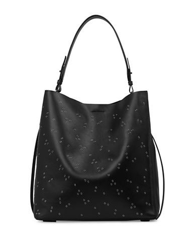 ALLSAINTS ALLSAINTSCapital Junai North South Leather Tote. #allsaints #bags #leather #hand bags #tote #