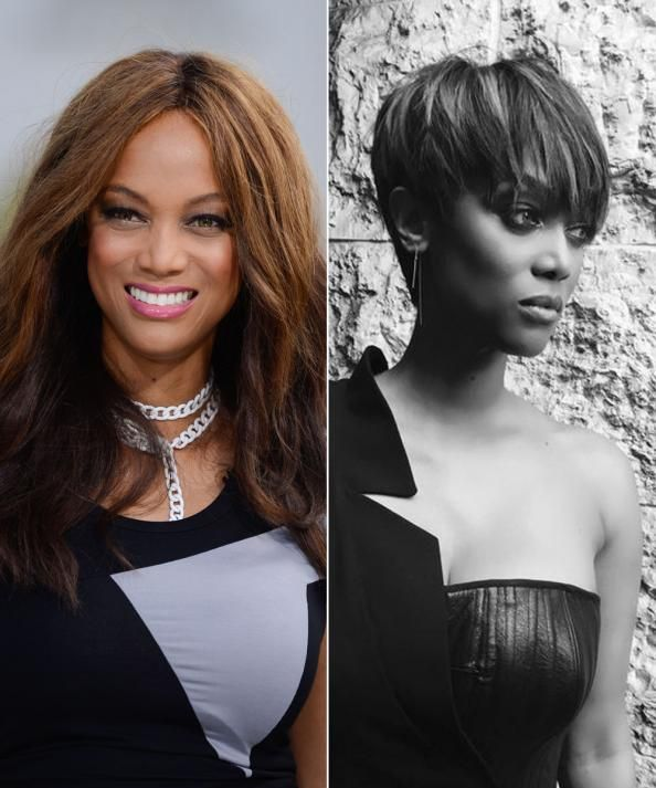 Tyra Banks Ponytail Hairstyles: Best 10+ Tyra Banks Short Hair Ideas On Pinterest