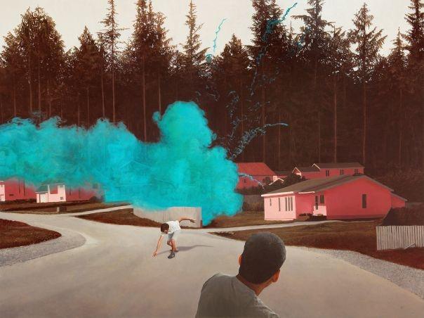 Smoke Bomb by Alexander Roulette