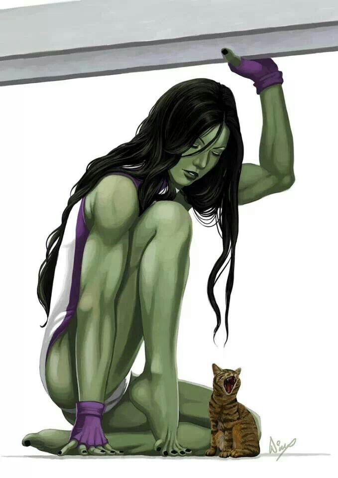She hulk hot yuri, blondes teens lesbians