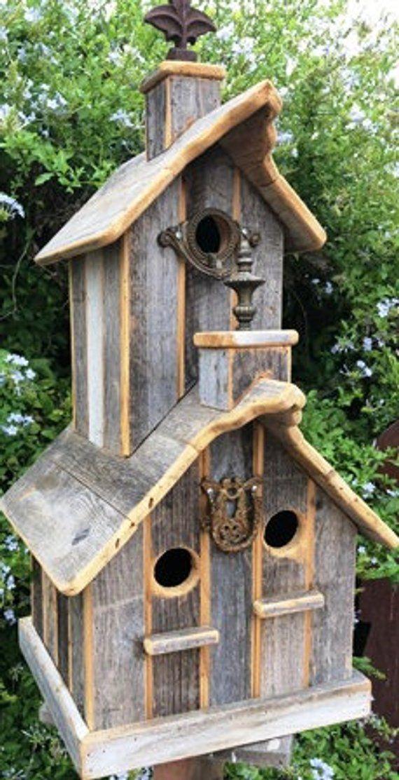 Wooden Bird Houses Build
