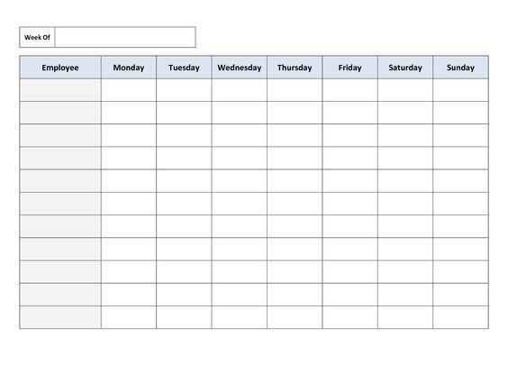 Best 25+ Schedule templates ideas on Pinterest