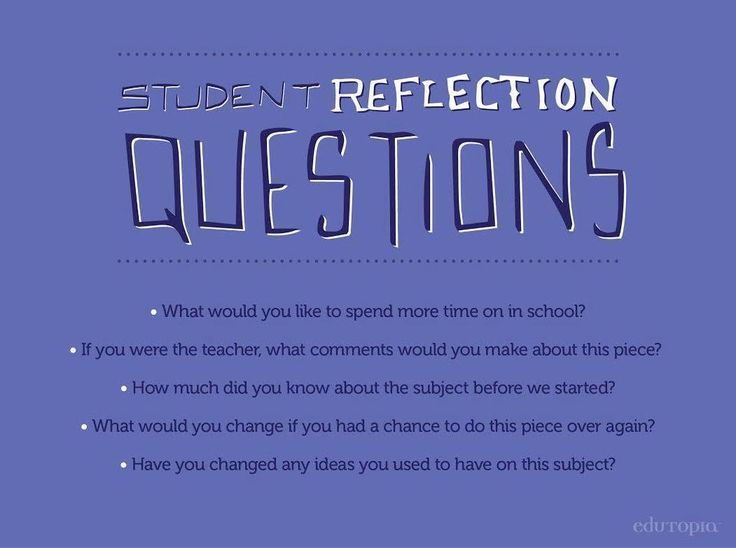 """""""Download this 40-question list to help students reflect on their progress & goals: http://t.co/WuLmQrhz1a."""""""