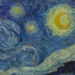 Vincent van Gogh. The Starry Night. Saint Rémy, June 1889 | MoMA