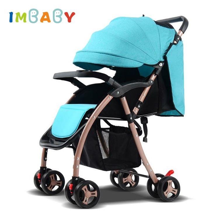 IMBABY Portable <b>Baby Stroller</b> Ultra-light <b>High Landscape Baby</b> ...