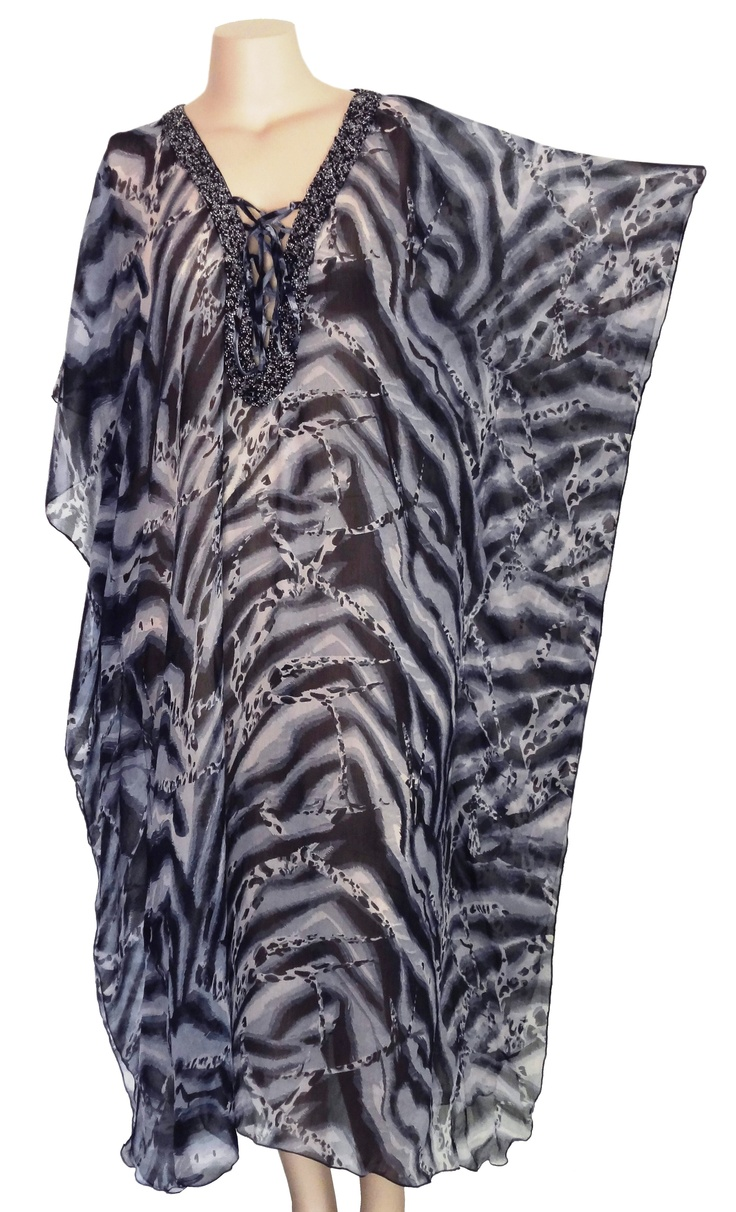 Bella Sian Long Safari Kaftan
