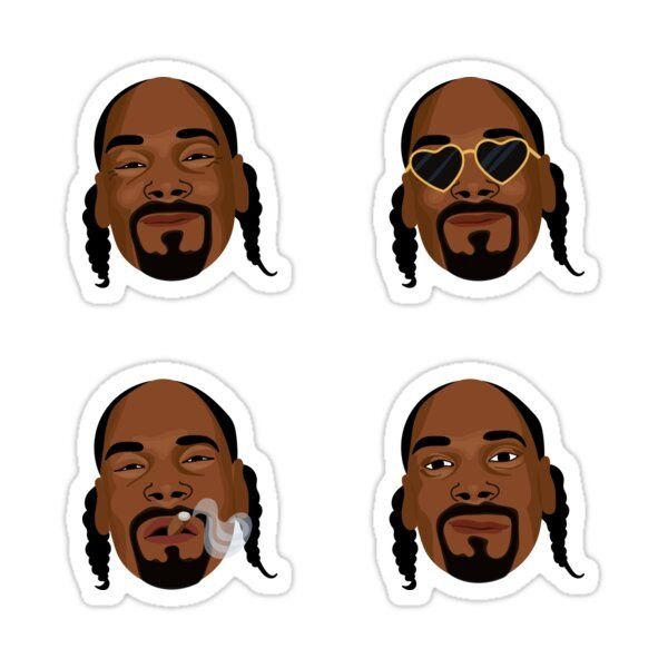Snoop Dogg Art Expressions Sticker In 2021 Dogg Snoop Dogg Snoop