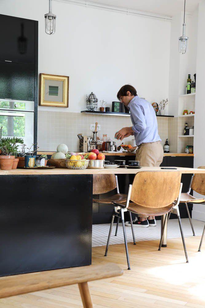 Cuisine Emilie Luc Duc Appartement Paris