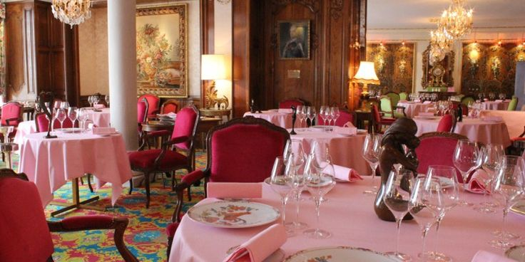 Le Chantecler at the hotel Negresco in Nice. The best dinner of my life was here!