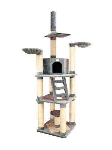 Premium Kratzbaum X9603 von ARMARKAT groß XXL in Farbe Grau %C3%9811 cm Kratzstämme für große und schwere Katze sehr robust Armarkat http://www.amazon.de/dp/B005711VSW/?m=AMWB9IWQTFGZU