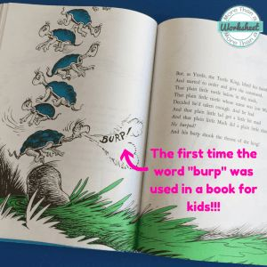 8 Interest Facts About Dr. Seuss from More Than a Worksheet #drseuss #morethanaworksheet