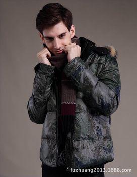 groothandel free winkelen cut standaard winter jurk jasje donsjack winterjas mannen jas camouflage down& parka' s mannen 2