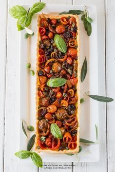 Apron and Sneakers - Cooking & Traveling in Italy and Beyond: Mediterranean Tomato Tart