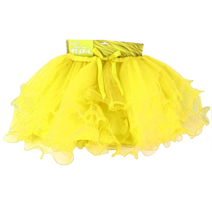 Tutu - Yellow Tutus are the perfect Hens night accessory! Gorgeous layered and lined Yellow Tutu for the Bride To Be, or get one for all the girls to really make an impression! Team with one of our...