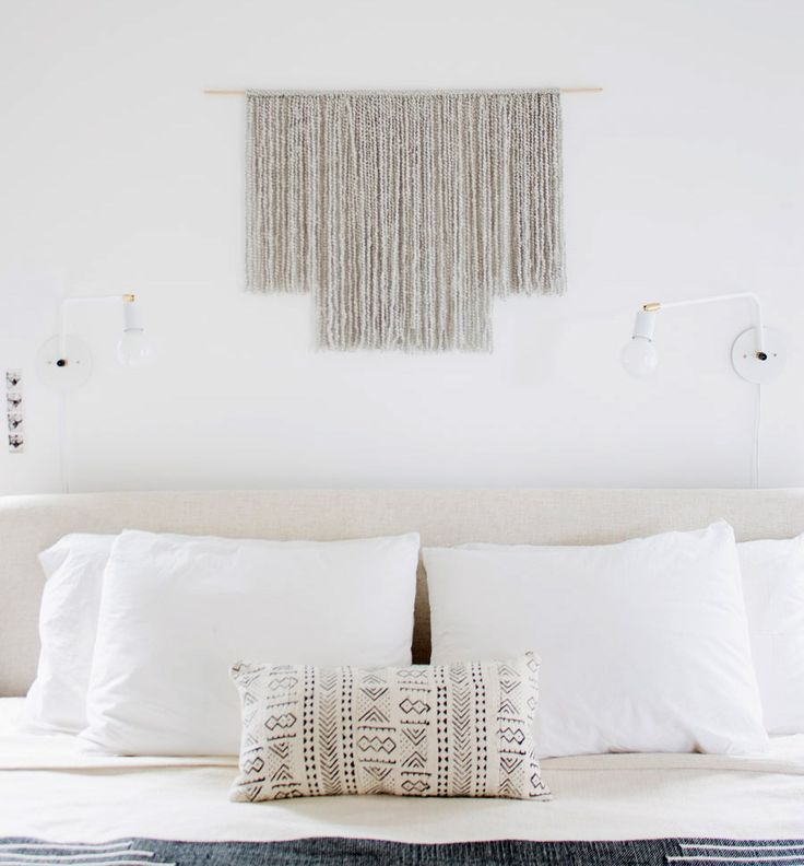 Learn how to make this easy and chic DIY wall hanging from Molly Madfis of Almost Makes Perfect.