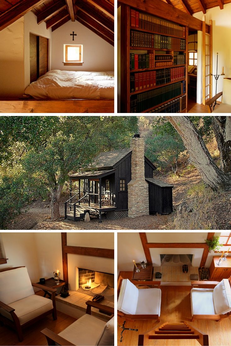 The innermost house a 144 sq ft cabin in northern for Prefab granny unit california