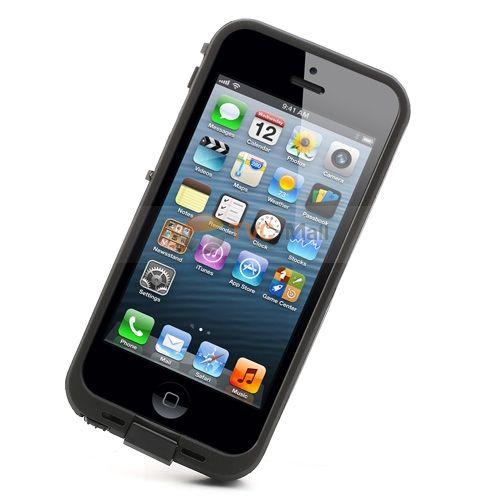 2 méterig vízálló, por- és ütésálló tok minden iPhone 5 és 5s készülékhez.Könnyű és strapabíró, megvédi a készüléket a hajózás közben előforduló sérülésektől.Figyelem: a képeken látható telefon csak illusztráció, nem része a csomagnak!