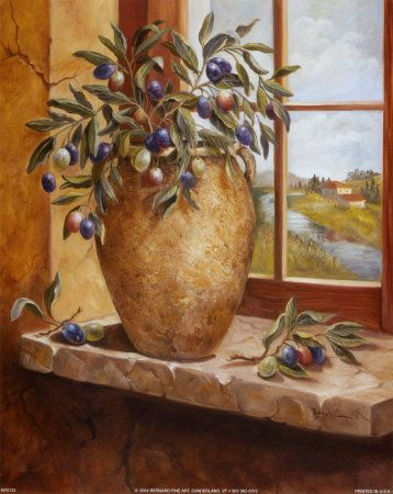 NY0333~Olives-in-Tuscany-Posters