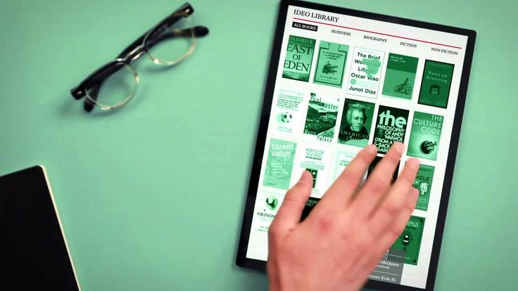 The Future of the Book | IDEO 2010