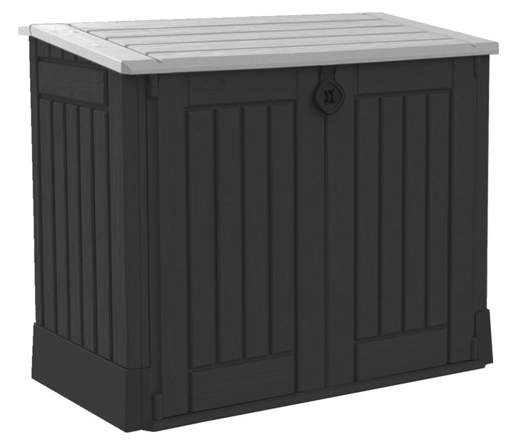 Opbergbox HENNE 132x110x74cm kunstst | JYSK #JYSK #Kussenbox #Tuinaccessoires #Tuin