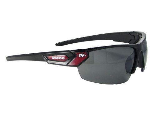 Arkansas Razorbacks Black Mens Sport Sunglasses NCAA Licensed S12JT