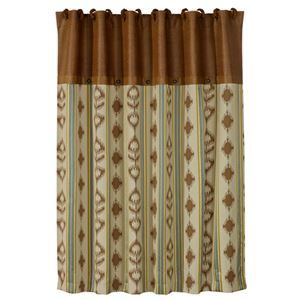 Delectably Yours Alamosa Southwestern Shower Curtain by HiEnd Accents