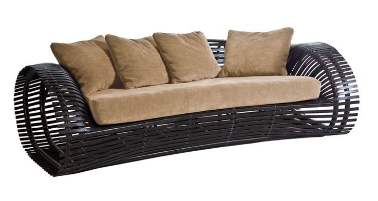 Kenneth Cobonpue : Collections : LOLAH : Loveseat