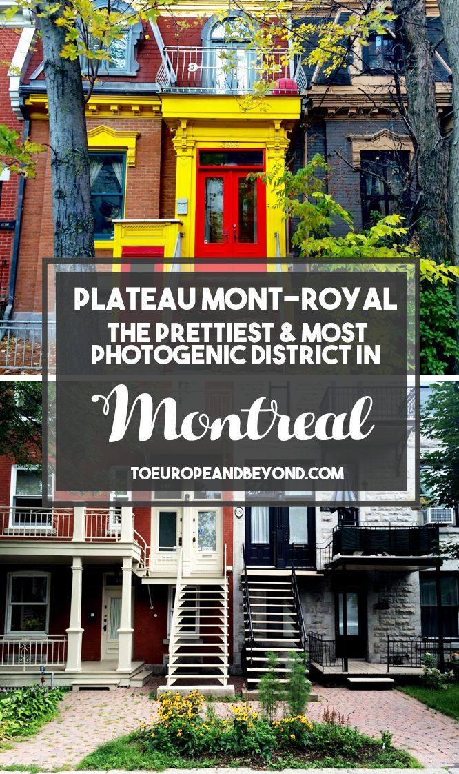 Plateau Mont-Royal has everything: character, architecture, colours, and angles. What more could a photographer want? #Montreal #travel