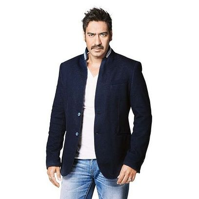 Ajay Devgn looks handsome in a Black Bandhgala. Shop his look now! #BollywoodFashion #CelebrityStyle #BollywoodActor #MensFashion